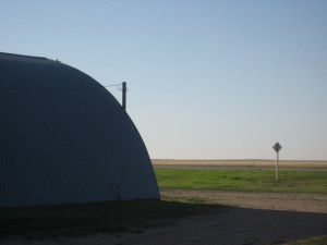 Grain storage in Lang