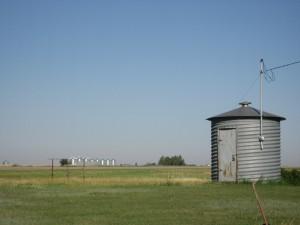 Grain silo in SK