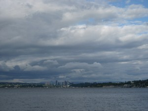 View from Lake Washington