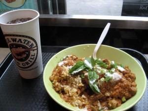 Bowl-a-Rama lunch