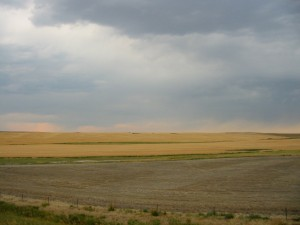 Montana as a storm rolls in