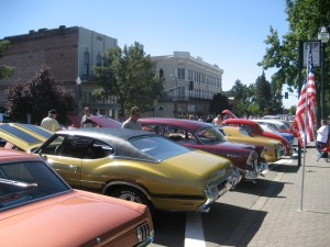 Classic Car show in Walla Walla