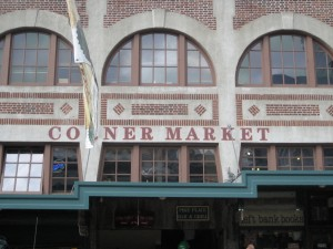 Corner Market in Seattle
