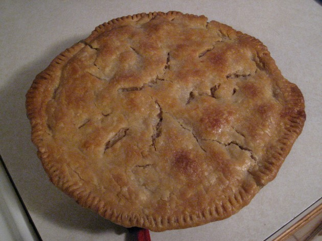 """The Contender"" pie"