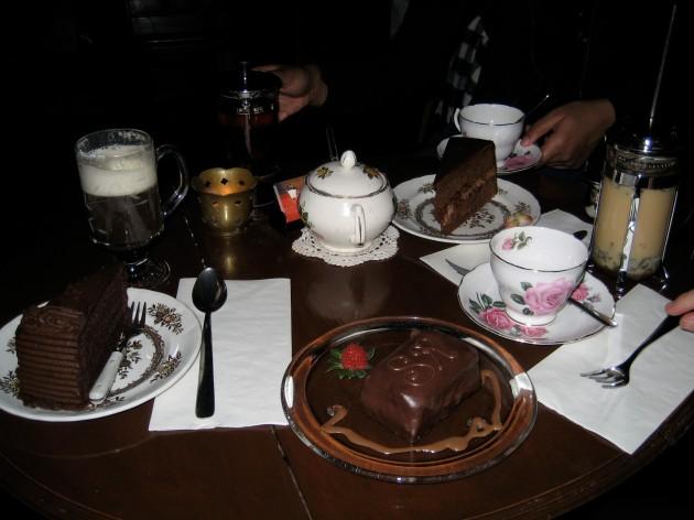 table of treats at Sweet Revenge