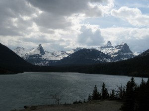 St. Mary Lake overlook