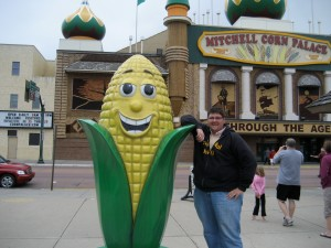 Ev at the Corn Palace