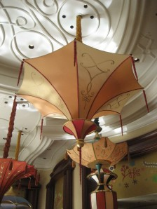 umbrellas at the Wynn