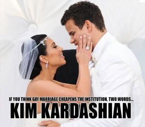 Kim Kardashian divorce poster