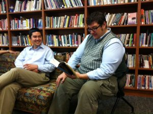 Reading at University of Maryland with Nick Sakuri