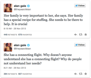 another two tweets from Elan Gale